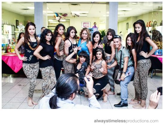 Dancers Group Shot