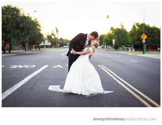 Kiss In The Middle Of the Street