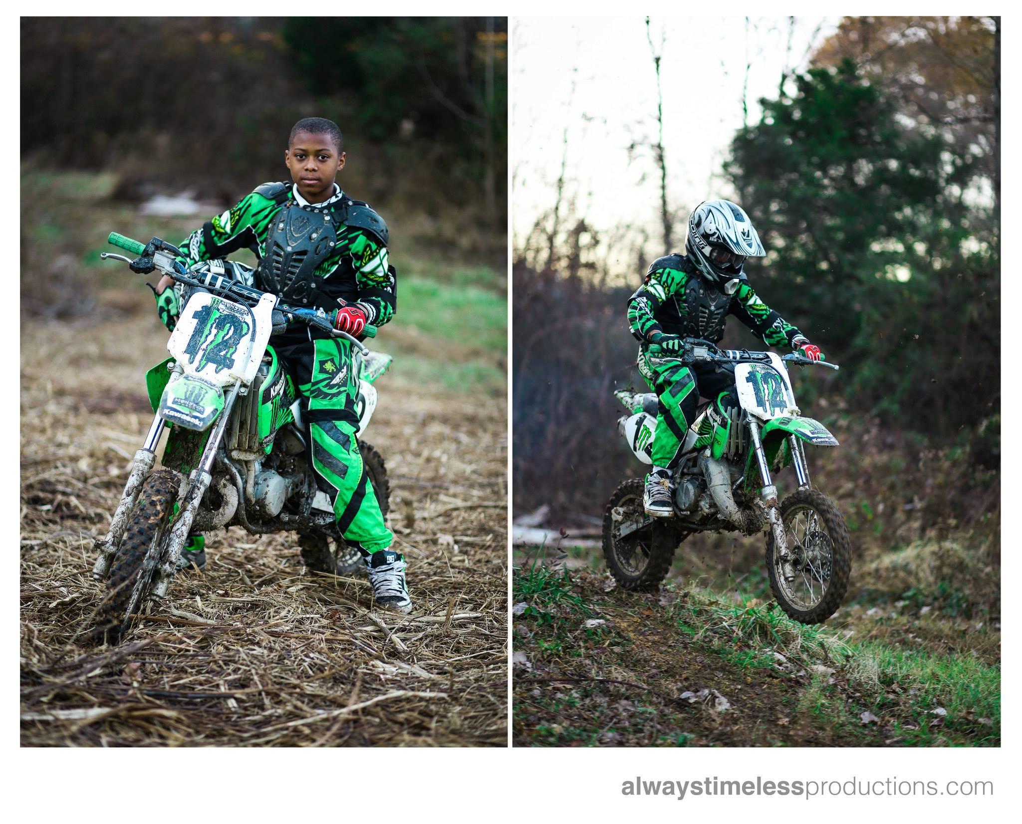 Bj The Phenom Dirt Bike Rider Always Timeless